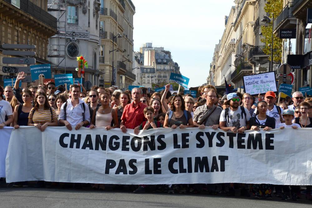 Marche pour le climat - Crédit : Jeanne Menjoulet